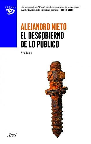 Portada del libro El desgobierno de lo público (Actual)
