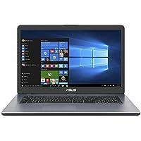 "Asus Vivobook R702UA-BX765T PC portable 17"" Gris (Intel Pentium, 4 Go de RAM, 1 to + SSD 128 Go, Windows 10) Clavier AZERTY Français"