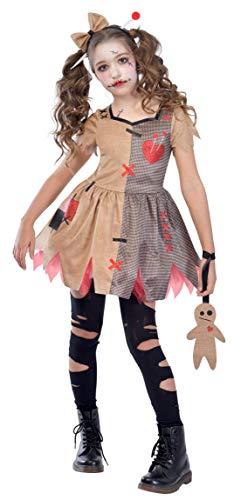 Enter-Deal-Berlin KINDERKOSTÜM - Voodoo Girl - Größe 134 -