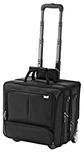 dicota dataconcept 460 trolley mallette avec roulette pour ordinateur portable 15 16 4. Black Bedroom Furniture Sets. Home Design Ideas