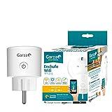 Garza Smart Plug Enchufe Wifi Alexa, 52 x 52 x 85mm, Blanco
