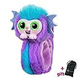 Wrapples pequeño juguete para las mascotas vivas, Wrist mono muñeca interactiva amigos de la muñeca, conversación, mascotas en vivo, lindo animal juguete, niña, muñequera, regalo de navidad para niño
