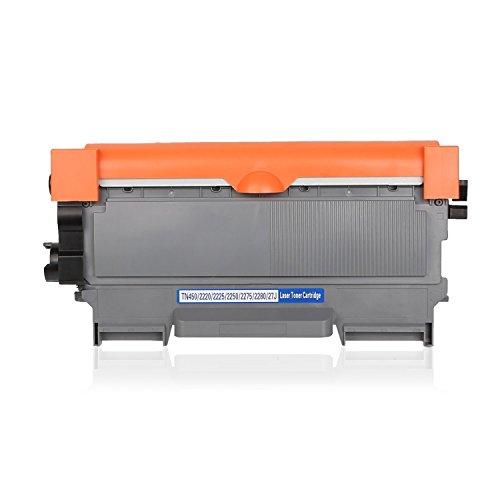 EBY kompatibel Toner ersetzt Brother TN-2220 TN2220 TN 2220 TN-2010 TN2010 (2.600 Seiten) schwarz für Brother HL-2240 2240D 2250DN 2270DW MFC-7360N DCP-7065dn DCP-7070dw DCP 7060d Fax 2840 2940