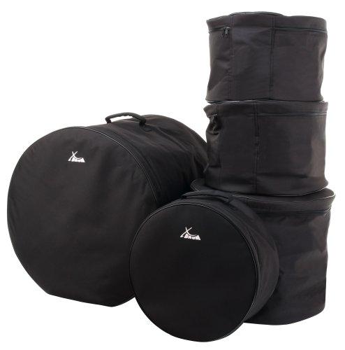 """XDrum Classic Drumbag Set, Schlagzeugtaschen in Standard Größen: 22\"""",16\"""",13\"""",12\"""" und 14,5\"""" (wasserabweisend, innenpolsterung, stabile Tragegriffe)"""