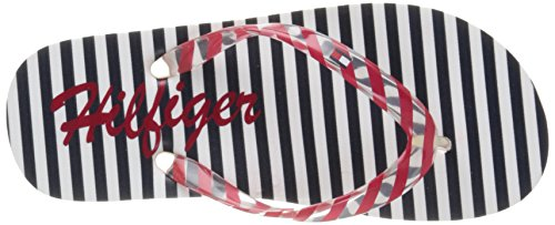 Tommy Hilfiger Marlow 5D 1, Tongs Fille Multicolore (403)