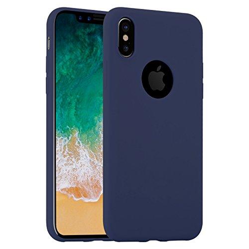iPhone X Jelly navy -