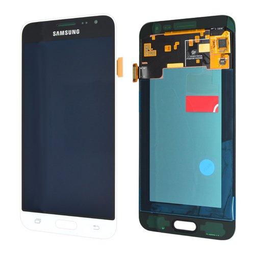 galaxy j3 display LCD Display Samsung J320F Galaxy J3 2016 Original full set White - LCD Display + Display Glas + Touchscreen + Elektronik