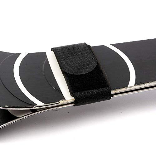 Ski-Band / Ski-Halter (schwarz-2Stück) - schützenSie Ihre Ski beim Transport mit Schnellverschluss-Ski-Bändern von EpicTraveller.co