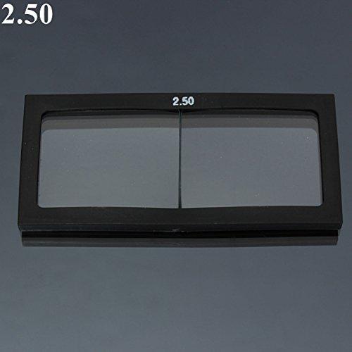 Generic 11.0bis 3.0Dioptrie Schweißhelm Maske Glas Lupe 11X 5,5cm -