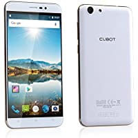 """Cubot Note S SIM doble 16GB Blanco - Smartphone (14 cm (5.5""""), 16 GB, 8 MP, Android, 5.1, Blanco)"""