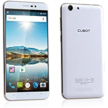 "Cubot Note S SIM doble 16GB Blanco - Smartphone (14 cm (5.5""), 16 GB, 8 MP, Android, 5.1, Blanco)"