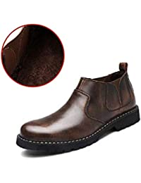 Amazon.it  stivali di pelle marroni - Stivali   Scarpe da uomo ... 674b69a846c