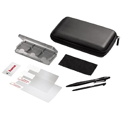 Hama 8in1 Zubehör-Set Starter Tasche Game-Case 2x Stift für Nintendo