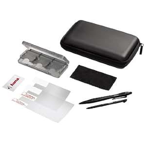 Hama 8in1 Zubehör-Set Starter Tasche Game-Case 2x Stift für Nintendo New 3DS XL / 3DS XL Konsole