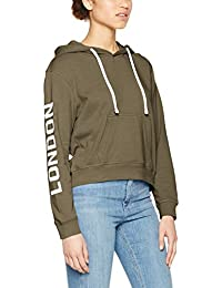 Only Onllondon L/S Short Hood Swt, Capucha para Mujer
