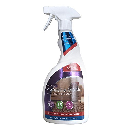 Acana Carpet and Fabric Moth Killer with Lavender Freshener Spray - 500 ml
