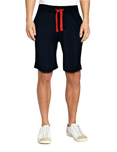 FashionCity -  Pantaloncini sportivi  - Uomo Navy