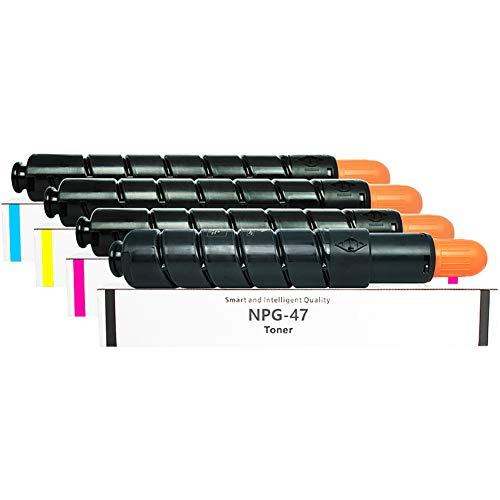 GYBN Tonerkartusche Toner mit großer Kapazität für Canon npg47 Tonerkartusche G47 Toner C9065 C9075 C9280 C9270 Pro Digitaler Farbdrucker Toner Grafischer Drucker Toner-4-set