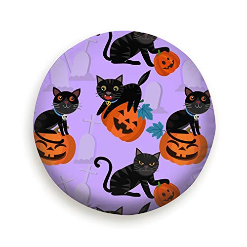 Huabuqi Halloween Kürbis Black Cat Holidays Tier Pure Black 14
