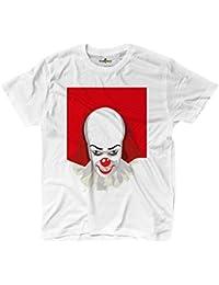T-Shirt Maglietta Horror Parodia Cult Cinema It Pagliaccio Assassino 1