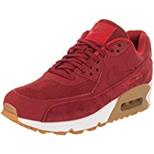 cheap for discount abd9a 2ba91 NIKE AIR MAX 90 Suede W Sneaker Damen Rot Sneaker Low
