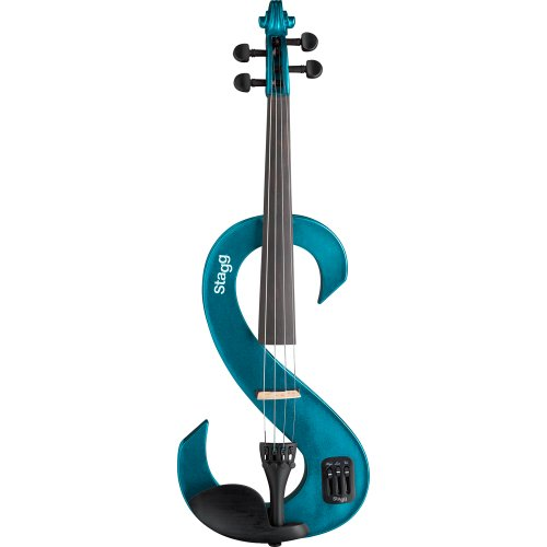 stagg-14746-mbl-44-electric-violin-metallic-blue