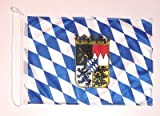 Bootsflagge Freistaat Bayern mit Wappen Fahne Flagge