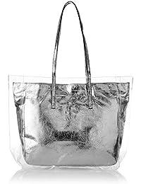 205a053523f Aldo Women s Tote Bag (Silver)