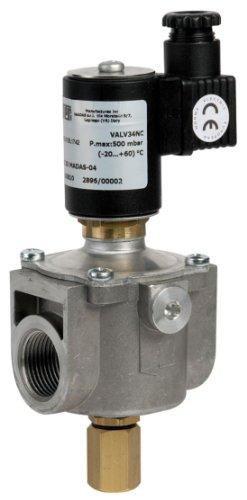 Elettrovalvola per intercettazione di gas a riarmo manuale VALV-34NC Attacco Rp 3/4