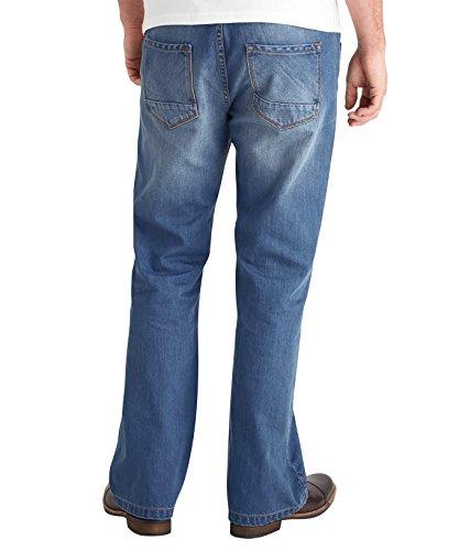 Joe Browns Herren Bootcut Joe Jeans Light Wash