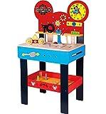 Mickey Mouse Kinderwerkbank Kinderwerkzeug Werkzeugbank Werkbank Kinder Werkstatt Holz Disney