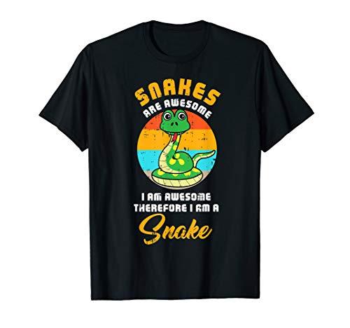 Kostüm Minute Last Super Einfache - Snake Super Kostüm Nettes Einfach Reptil Halloween Geschenk T-Shirt