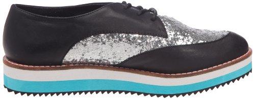Buffalo 211-2217 P, Chaussures à lacets femme Noir (Paradise g black)