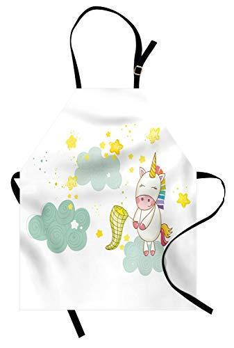ABAKUHAUS Unicornio Delantal de Cocina