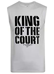 Nike Mens Battlegounds King Of The Court Sleeveless Vest Top Size S