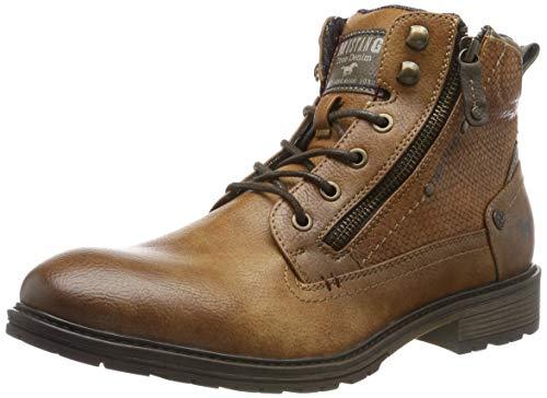 MUSTANG Herren 4140-501-301 Klassische Stiefel, Braun (Kastanie 301), 43 EU