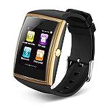 LQHLP Watch Card Smart Watch 1.54 Große Full Touch HD-Bildschirm 3D-Oberfläche Design Tracking/Alarm, Information Push, Smart Reminder, Schrittzähler, Motion Tracking