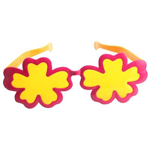 Amosfun Blumenform lustige Sonnenbrille Party Sonnenbrille Neuheit Brillen Party Favors Supplies