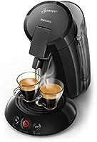 Senseo hd6555/20Freestanding semi-automática 1.2L 8Cups Black Capsule Coffee Machine–Coffee (Freestanding, Coffee Machine in Capsules, Black, Plastic, Buttons, 1.2L