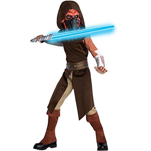 Plo Kostüm Koon - Star Wars Plo Koon Kostüm Deluxe für Kinder