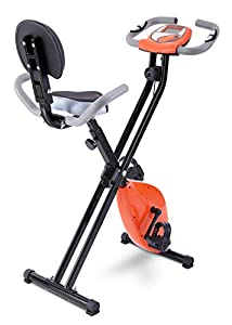FITODO Upright Stationary Exercise Bike Magnetic Resistance Adjustable Smoothly and Quietly