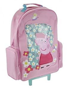 Peppa Pig George Flowers Wheeled Bag Suitcase Holiday