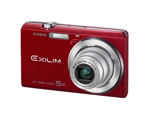 Casio Exilim EX-ZS15 Digitalkamera (14 Megapixel, 5-fach opt. Zoom, 7,6 cm (3 Zoll) Touchscreen, HD-Video) rot -