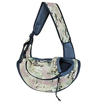 LOKEP Small Dog Carrier Bag Travel Tote Soft Comfortable Puppy Kitty Rabbit Shoulder Handbag 41JUsRvZL L