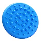 Rechoo Soft Anti Cellulite Appareil Massager Gant de brosse Minceur Relaxant Scrub Bath Spa Home Soft Body Massager Brush Spa Tool pour la Brosse pour la Cellulite Relaxante Bleu