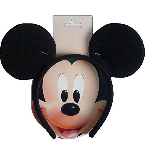 Disney Haarreif mit Mickey Maus Ohren zu Karneval Fasching ()