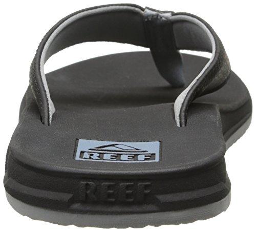 Reef REEF ELEMENT Herren Zehentrenner Schwarz (BLACK BLA)
