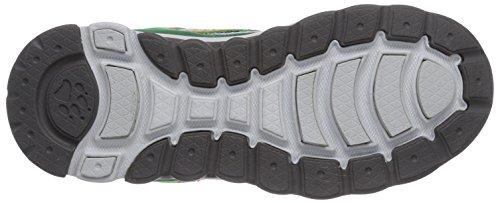 Jack Wolfskin SOUTHPARK LOW K Unisex-Kinder Sneakers Grau (cucumber green 4033)