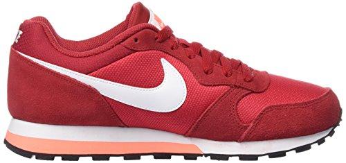 Nike Md Runner 2, Bottes femme Rouge (Red)