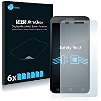 Protector Pantalla Alcatel One Touch Pop 3 (5.5) Pelicula Protectora [6 Unidades] Screen Protector